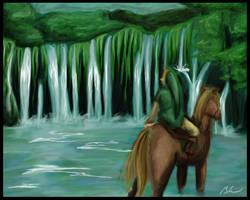 Faron Woods Spring -wallpaper- by blue-pepi