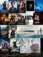 2014 Science-Fiction Movies by ESPIOARTWORK-102