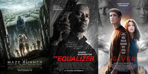The Maze Runner - The Equalizer - The Giver - 2014 by ESPIOARTWORK-102