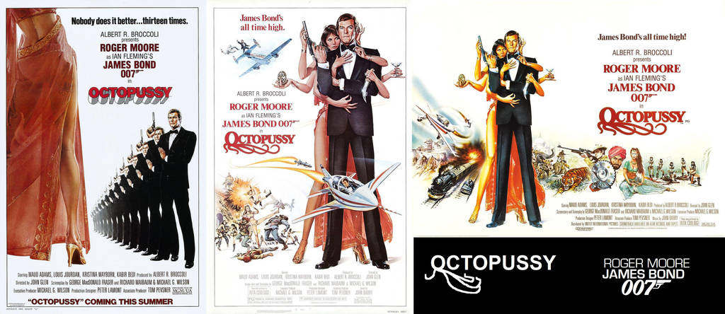 1983 Movie Posters: Octopussy 1983 Movie Posters By ESPIOARTWORK-102 On DeviantArt