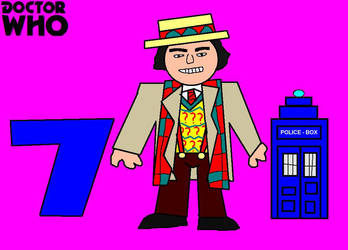 Doctor Who Minis - Seventh Doctor by ESPIOARTWORK-102