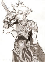 Cloud Strife by LizzieDoll