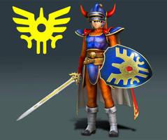 Hero of Dragon Quest for Super Smash Bros. Switch by Diegichigo