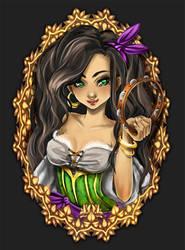 Esmeralda by yaminolady