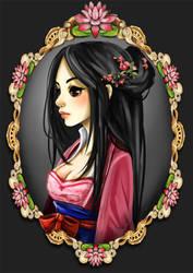 mulan by yaminolady