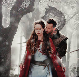Narcisse and Lola: The story about Red Riding Hood by KeiSi-X