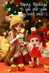Happy Holidays! by KickassKass