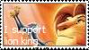I Support lion king stamp by eskimuffin
