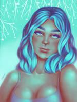 Cyan by pinkastr