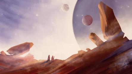 Desert by pinkastr