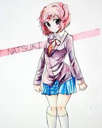 Natsuki innocent look by ryoru97