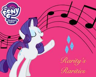 Rarity's Rarities album art by EndlessWire94