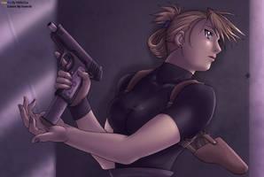 Riza Hawkeye by Ironcid