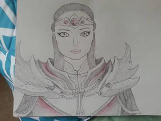 Aldii - My Skyrim Character by Darkrai4813