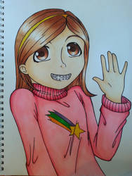 Mabel Pines by Darkrai4813
