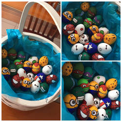 Easter eggs by Kaysa