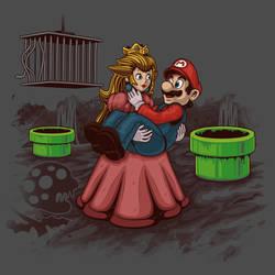 Peach! Mario Needs Help! by ArashiYuka