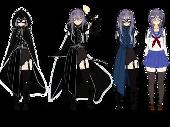 Boku no Hero Academia OC: Blackbird by BlueAAGirl
