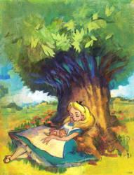 Alice Coloring Book by megalaros