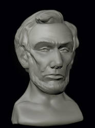 Abraham Lincoln by megalaros