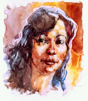 Engimatic Portrait by megalaros