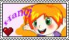 Hanci fan stamp by MannieWoo