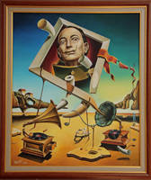 A surreal simulacrum of S.Dali by shtirliz