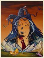 Psycho 2 (Birds out of the Asylum) by shtirliz