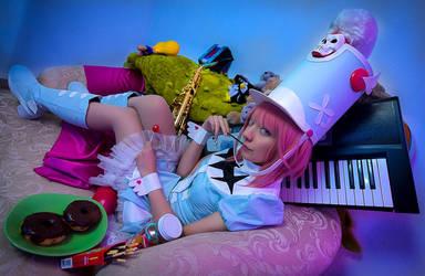 Sweets - Nonon Jakuzure Cosplay by MaySakaali