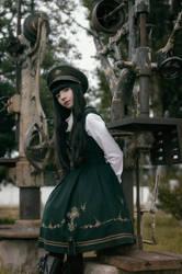 Antique Machinery IV - Military Lolita by MaySakaali
