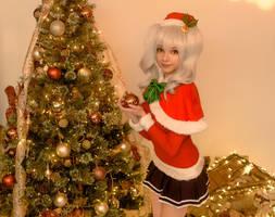 Christmas Kashima / KanColle Cosplay by MaySakaali