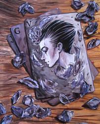 Violet Card by Teraskasine