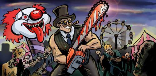Zombie kill last the week by Teraskasine