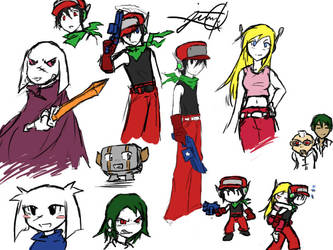 Cave Story sketches by TheAnimaker
