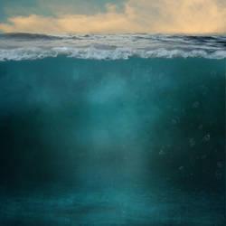 Underwater Split Background by obsessed-much