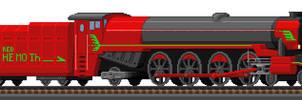 Steamer 2D1 Red Behemoth by Flying-Snake