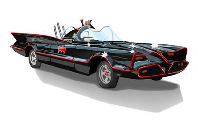 Batmobile by sacking-jimmy