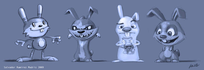 More bunnies... by ReevolveR