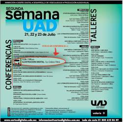 conferencia 21 julio UAD by ReevolveR