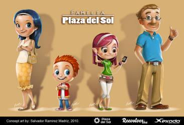 concept art familia del sol by ReevolveR
