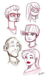 Sunday Sketch Club 009 by ReevolveR