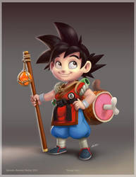 Young Goku by ReevolveR