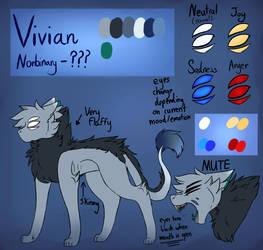 Vivian -2018 REF- by CinderedBranch