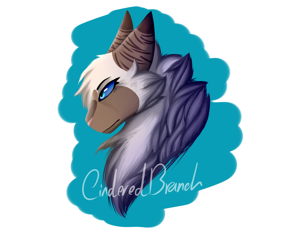 Hawkfrost Painting by CinderedBranch