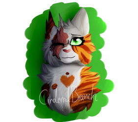 Brightheart Painting by CinderedBranch