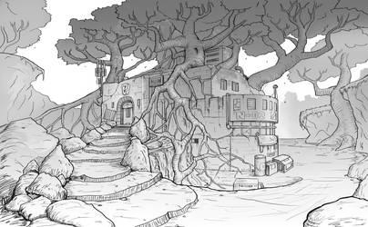 tree house by jjeeaann