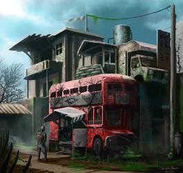 Apocalipse City Entrance Jean Velazquez by jjeeaann