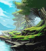Zelda environment by jjeeaann