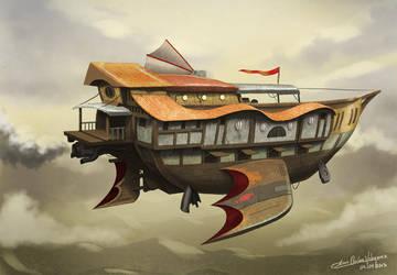 Garuda ship by jjeeaann