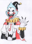 .:Demon clown (For you):. by E-Tiger